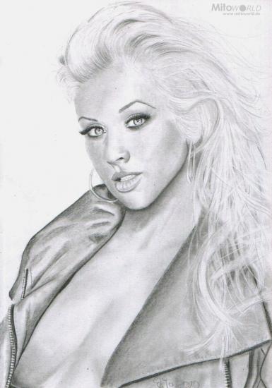 Christina Aguilera por Mito
